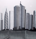 mural interior ciudad