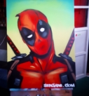 deadpool graffiti
