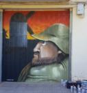 sancho panza graffiti